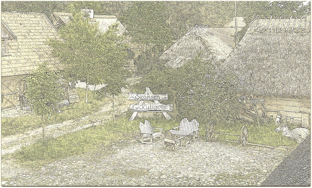 Skansen w Kuligowie
